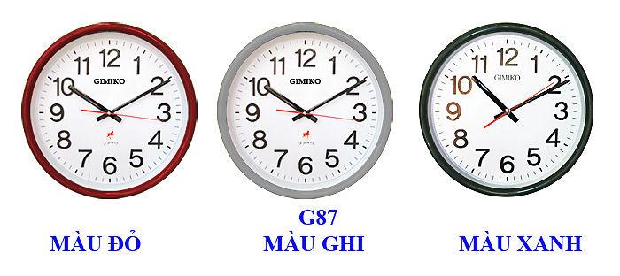 Đồng hồ treo tường Gimiko